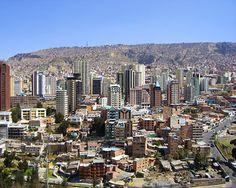 La Paz - governmental capital