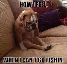 When I can't Go Fishing