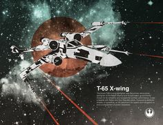 X-Wing by Chase Kunz, via Society6.com