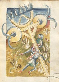 Bellifortis Verfasser Kyeser, Conradus Erschienen Elsaß, [um 1460] Ms. germ. qu. 15 Folio 38r