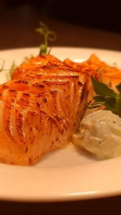 Poached Salmon, Tzatziki, Fine Dining, Mousse, Cabbage, Spaghetti, Chicken, Meat, Vegetables