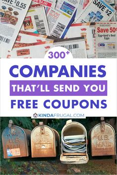 I never knew there were so many companies that would send you coupons in the mail just for asking. I'm going to contact several of the ones on this list. Extreme Couponing Tips, How To Start Couponing, Couponing For Beginners, Couponing 101, Free Food Coupons, Free Coupons By Mail, Grocery Coupons, Shopping Coupons, Shopping Tips