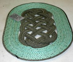 How To Make Your Own Rope Rug Nautical Diy Instructions Pdf