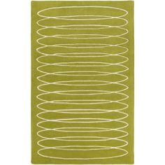 Solid Bold - Cylinder Moss #modernrugs #colorfulRugs #coolRugs #ModRugs #GreenRug #MossRug #BobbyBerk