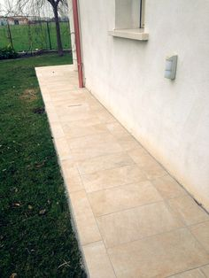 Pavimento esterno di villetta privata - Outdoor floor of private villa