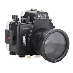 614.25$  Watch here - http://alif3z.worldwells.pw/go.php?t=32729641596 - Meikon Waterproof Underwater Camera Housing Case Diving Equipment 60m/195ft for Nikon D800
