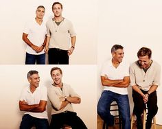 Ryan Gosling and George Clooney - STOP TOO MUCH TO HANDLE