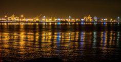 San Francisco Port California [OC] [6000x3081]