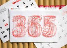 2015 Pentagram Typography Wall Calendar (Large)