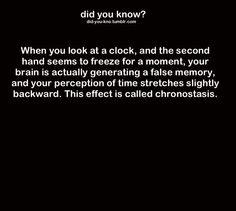 fun psychology fact