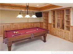 Let's play some billiards in this stunning 3 bedroom home with a rec room ---- 6712 Point Drive, Edina, MN 55435