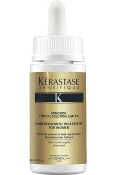 Volumizing+sprays+are+great,+but+to+get+truly+thicker+hair,+you+need+to+go+for+the+gold+standard+of+growth:+minoxidil.+First+introduced+by+Rogaine,+this+FDA-approved+topical+(ideal+for+hereditary+hair+loss)+is+now+popping+up+in+your+favorite+product+lines.+Kérastase+is+the+latest+to+offer+a+standard+2+percent+formulation.+To+further+strengthen+your+tresses,+combine+it+with+a+biotin+supplement. Kérastase+Densifique+Hair+Regrowth+Treatment,+$39+for+a+one-month+supply,+kerastase-usa.com…