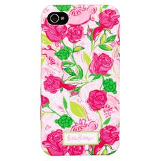 Lilly Pulitzer iPhone 4 Case - Sorority Print | Lifeguard Press