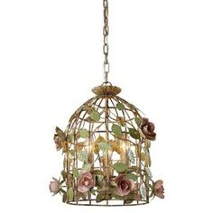 Vivienne Pendant, for a girl's room or a garden room