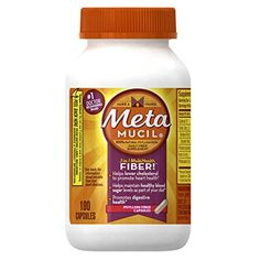 Metamucil Psyllium Fiber Supplement Capsules by Meta, 100 Count *** Click image to read more details. #HeartNutrition