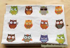 Home Decor Colorful Geometric Geometry Hoot Owl by stefaniexu