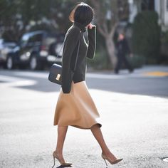 Love the way this skirt moves: http://9to5chic.com (And it's on sale now - see blog for more details or here: @liketoknow.it www.liketk.it/20BmD #liketkit)