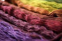 SHELTER - Jared Flood's woolen-spun yarn collection.  Beautiful colors.