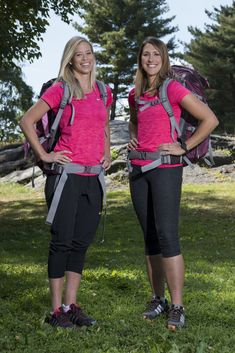 """Jen Hudak and Kristi Leskinen - The Amazing Race """"Retired Professional Skiers and Friends"""" Kristi Leskinen and Jen Hudak Double U, Amazing Race, Young Female, Team Names, Nba Players, How To Run Faster, Reality Tv, To My Future Husband, A Team"""
