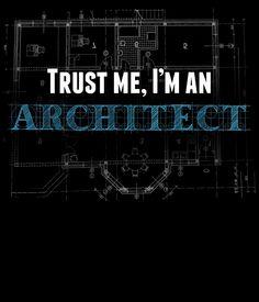 trust me i'm an architect by teeshoppy