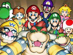 Super Mario Selfie