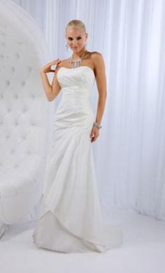 New With Tags Impression Wedding Dress 11573, Size 8  | Get a designer gown for (much!) less on PreOwnedWeddingDresses.com