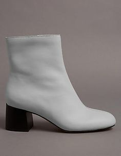 Mid Heel Ankle Boots with Insolia®