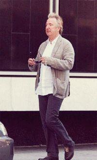 Walks like Alan Rickman - Alan Rickman Fan Art (25084632) - Fanpop