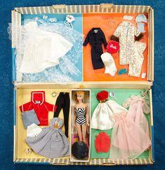 Barbie Box, Barbie Sets, Barbie Skipper, Barbie Life, Vintage Barbie Dolls, Barbie World, Barbie Clothes, Barbie Outfits, Blonde Ponytail