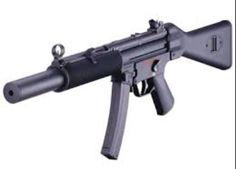 Integrally suppressed MP5