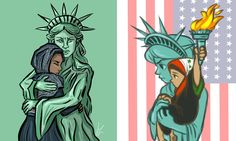 The Women's March saw a bevy of clever protest posters. These are 31 of our favorite Women's Marches signs from around the world. posters peace 31 of the Most Creative Protest Signs From the Global Women's March March Signs, Women's March Protest Signs, Immigration Protest, Protest Posters, Protest Art, Donald Trump, Power To The People, Intersectional Feminism, Faith In Humanity