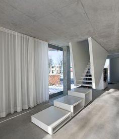 The H House interior by Wiel Arets