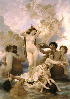 William-Adolphe Bouguereau, Zrození Venuše