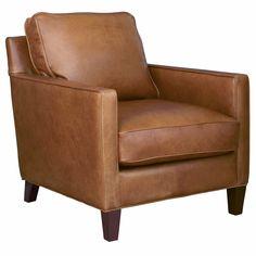 Genial Hanson Leather Armchair