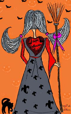 "Miss Poá by C. Banza: ""HALLOWEEN"""
