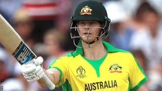 """The return to form of """"best in the world"""" Steve Smith and """"destructive"""" David Warner is a boost before Sunday's World Cup match against India, says Australia captain Aaron Finch. Cricket England, Cricket Tips, World Cup Match, David Warner, Sports Website, Steve Smith, Cricket World Cup, Football Helmets"""