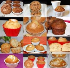 Cupcakes, Cupcake Cakes, Muffins, Sweet Desserts, Sweet Recipes, Mexican Sweet Breads, Crazy Kitchen, Pan Dulce, Bread Machine Recipes