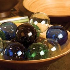 Kalalou Glass Ball - Set of 6