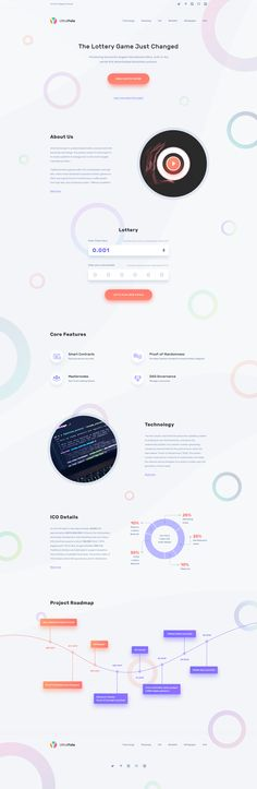 Landing Page Design — UltraYolo Lottery / Kartik Mahant