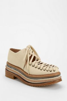 Jeffrey Campbell Ron Lace-Up Platform Oxford Urban Outfitters