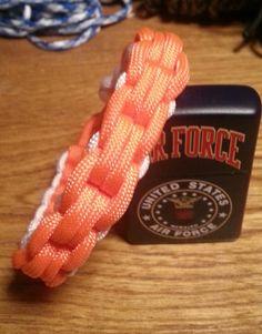 Unique Chainlink Braid Handmade Paracord Survival Bracelet