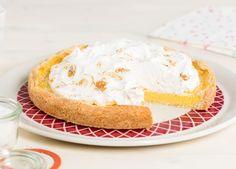 Lemon Meringue taart met kokos recept   Dr. Oetker