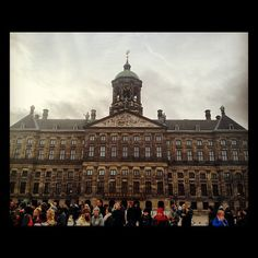 The Dutch Royal Palace.    To purchase this picture and other pictures in multiple formats please visit my gallery at http://instacanv.as/musicsumo