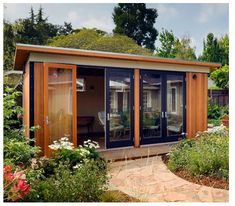 Blu Homes Acquires Modular Home Builder Modern Cabana Modern Cabana gets Acquired by Blu Homes – Inhabitat - Sustainable Design Innovation, Eco Architecture, Green Building Modular Home Builders, Modular Homes, Prefab Homes, Modular Housing, Backyard Office, Backyard Studio, Modern Backyard, Nice Backyard, Outdoor Office