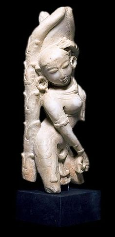 "Dancing Apsara Indian Sculpture ► P̲r̲i̲c̲e̲:$870.00   ► To Buy Click Above Images ►   Made of polymer Dimensions: 22"" (55 cm)  National Museum of Ethnology, Munich► Shipping worldwide   #Civilization   #Sculptures #ancientgallery Indian Gods, Indian Art, 3rd Millennium, National Museum, Art Reproductions, Munich, Civilization, Statues, Dancing"
