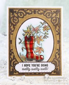 Feeling Fall Stamp Set | Power Poppy by Marcella Hawley