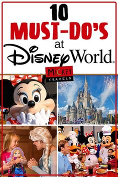 This Is The Perfect List Of Can T Miss Rides Events In Disney