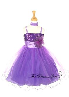 Two Toned Girl Dress ......for Rebecca - Monarch Miss