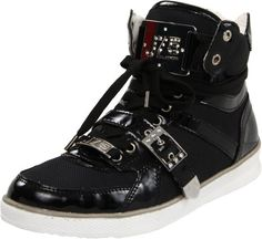 J75 by JUMP Womens Flow SneakerBlack Fabric Patent55 M US ** Visit the affiliate link Amazon.com on image for more details.