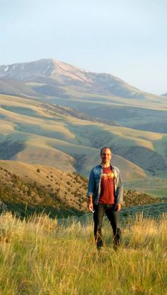 Hiking at Sunset at the Upper Canyon #duderanch in Montana. Dude Ranchers Association Member